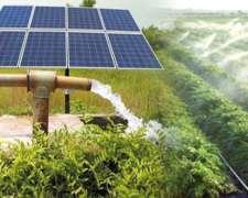 Wbomba Solar Para Extracción De Agua Subterránea