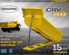 Acoplado Volcadaor Roquera CRV 15000