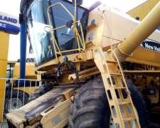 Cosechadora NH TC59 - año 2004 - Apto Quintales de Soja