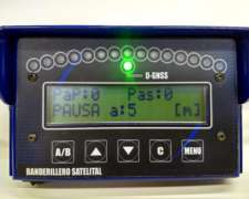 Banderillero Satelital de Alta Precisión (10cm). GPS 5 HZ