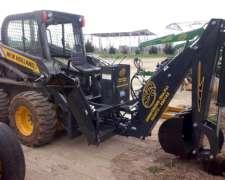 Retroexcabadoras Para Tractores y Minicargadoras