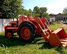 Tractor Invertido Con Pala