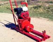 Tunelera TME12 con Motor a Explosión