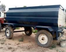 Acoplado Tanque Regador para Tractor