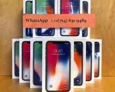 Iphone X 256gb Libre De Origen Caja Sellada Stock