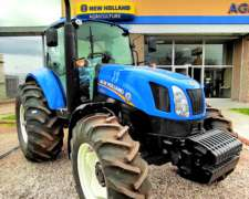 Tractor New Holland T6.130 Cabinado - 0km