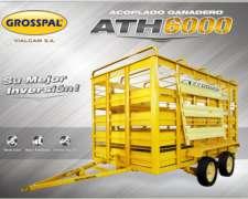 Acoplado Jaula Ath 6000 - Grosspal