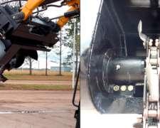 Accesorio Zanjadora Minicargadora Case - Bobcat - Michigan -