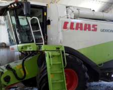 Claas Lexion 550 - 2006 - muy MU y Buena Excelente