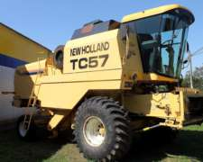 Cosechadora New Holland TC 57 - año 2003