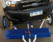 Carro para Transpote de Camionetas con Bandeja Giratoria