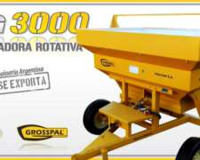 Fertilizadora de Arrastre Grosspal VG 3000 - 9 de Julio
