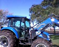 Tractor New Holland Td5- 90 2017 con Pala Frontal (C)