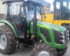 Tractor Doble Tracción 80 HP Chery Tipo John Deere