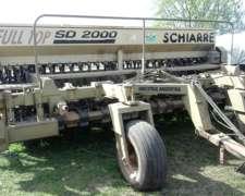 Schiarre SD 2000 de 26 Surcos a 17.5, Kit Grueso 13 a 35