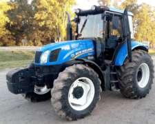 Tractor New Holland T6130 Con Tres Puntos