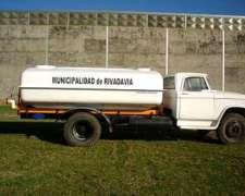 Cafito 8.000 Serie IV Regador Sobre Camion