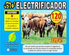 Boyero Electrificador 40/80/120 Km 12vcc / 220vac / Duales