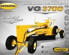 Niveladora de Arrastre Grosspal VG 3700