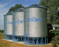 Fabrica Silos Aereos 100 TN $ 77.000 Financiacion 210 Dias
