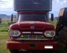 Vendo Excelente Camion Ford 600 con Caja Termica Mudancera