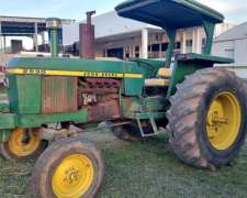 Tractor John Deere 2530 con 3 Punto