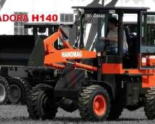 Pala Cargadoras Hanomag H140 4X4 Articulada 0km