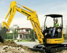 Miniexcavadora New Holland E27