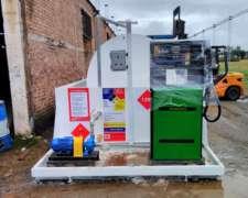Estación De Servicio Móvil Para Combustibles - Nueva / Moss