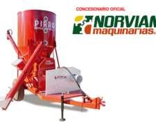 Moledora Mezcladora para Cereales y Distribuidora Pirro