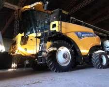 Cosechadora New Holland CR6.80 0km Disponible