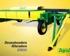 Desmalezadora Hileradora Cortahileradora Nueva Hd 3006 Agroa