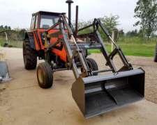 Deutz AX 120 con Pala Frontal