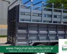 Acoplado Especial para Caballos Ambroggio Mixto ( Hacienda )