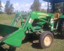 Tractor John Deere 5045 con Pala John Deere