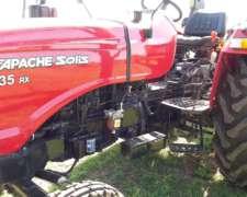 Apache 35 Con 3 Puntos Y Desmalezadora Grass Cutter