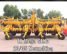Agrometal TX Mega GEN3 23/35 Neumática