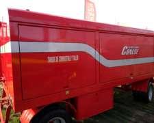 Cisterna 5000 Lts. Combinada con Taller