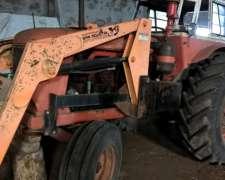 Tractor Fiat 780 Trompa Blanca con Pala