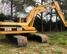 Excavadora CAT 320 B.