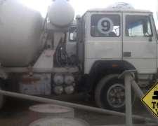 Camion Mixer Fiat Iveco 697 Tatu 6X4 muy Bueno Todo Vial