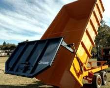 Volcador Pastero / Batea para Pasto / Multiprop. 18 a 25 M3