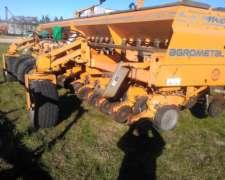 Sembradora Agrometal Mega de Granos Grueso 16 a 52