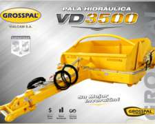 Pala Hidraulica VD 3500 - Grosspal