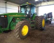 Tractor John Deere 8200 Doble Tracción con Duales