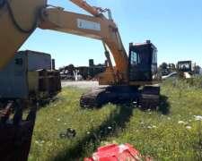 Excavadora Hyundai Robex 200.