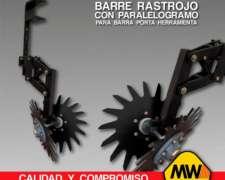 Barre Rastrojo con Paralelogramo para Barra Porta Herramient