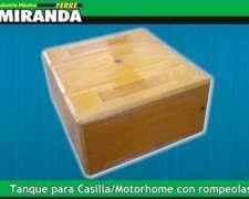 Tanque Cuadrado Casilla / Motorhome 400 Lts