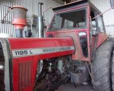 Massey Ferguson 1195 Ruedas Dual