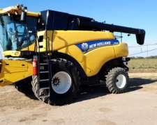 New Holland CR5.85 (20) 400 Hs con Draper Maizco 30